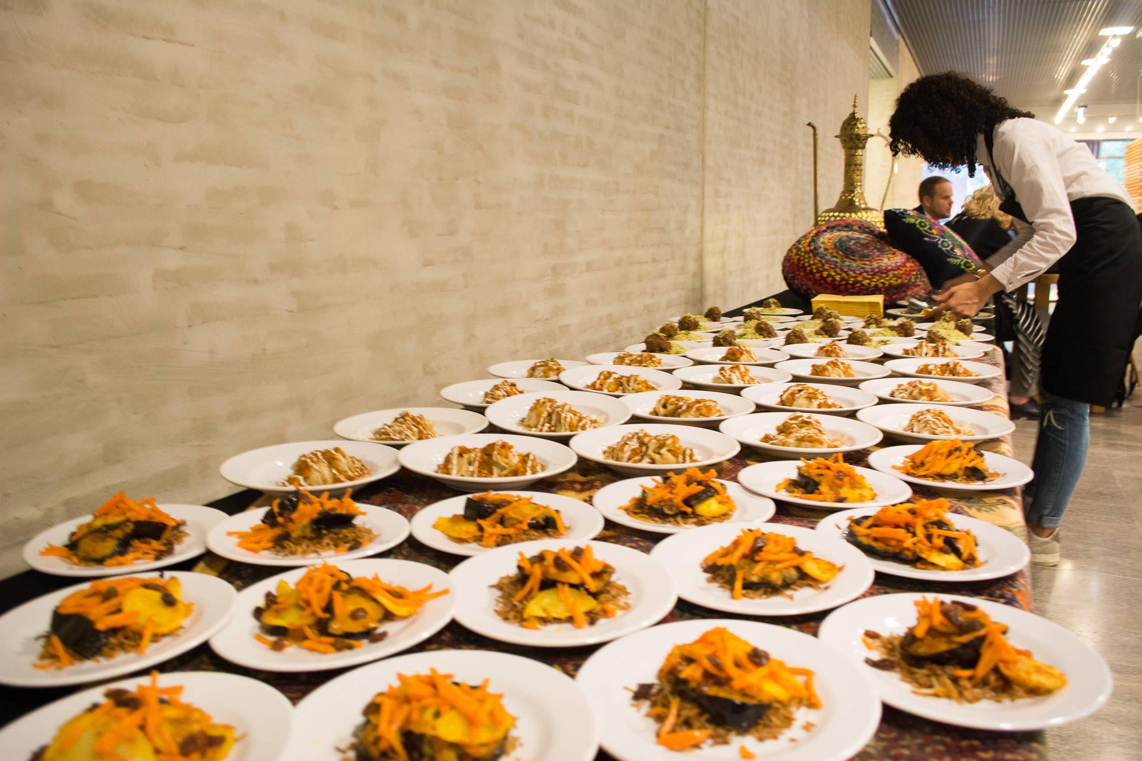 zakelijke en prive lunch op elke locatie met saffraan catering organiseren